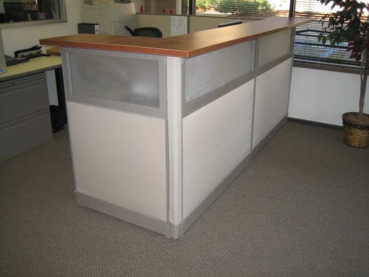 Cubicle Reception Desks
