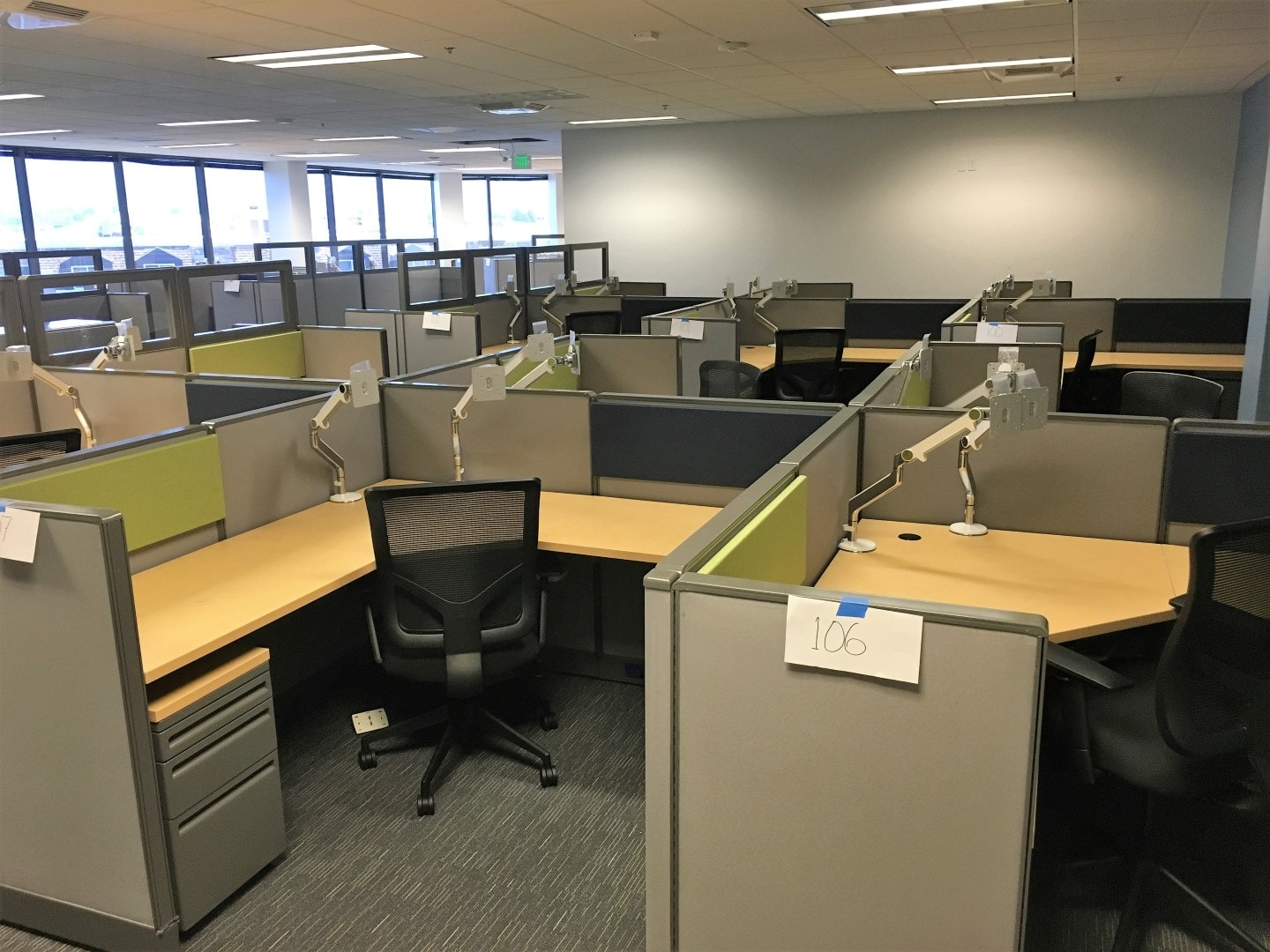 Used Office Workstations Cubicles