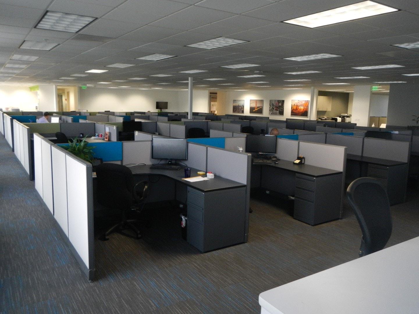 open office cubicles. Space Efficiency Open Office Cubicles