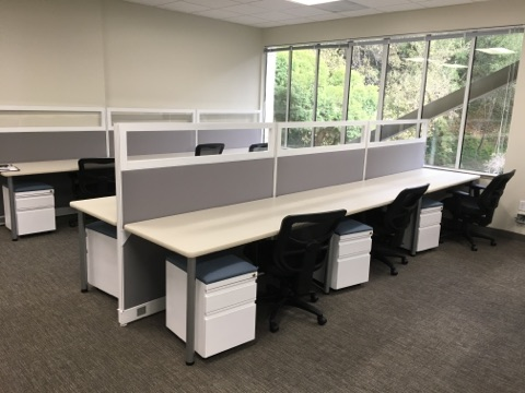 Desking Systems Benching Systems San Francisco Bay Area