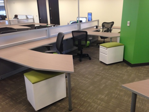 open office furniture san francisco bay area eco office Open-Concept Office Floor Open-Concept Office Floor