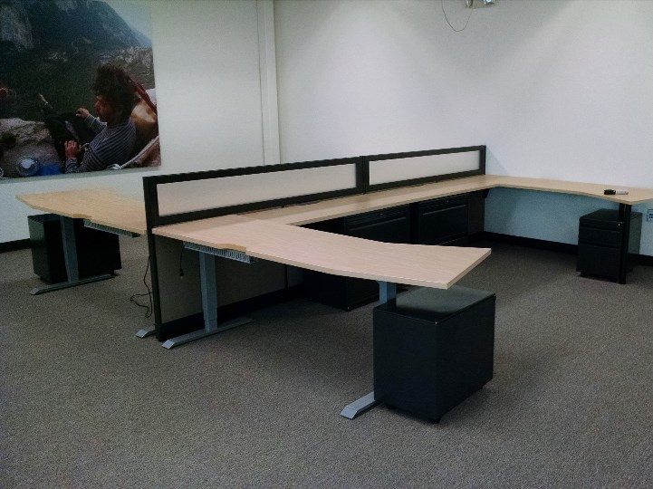 Completely Open Office Furniture