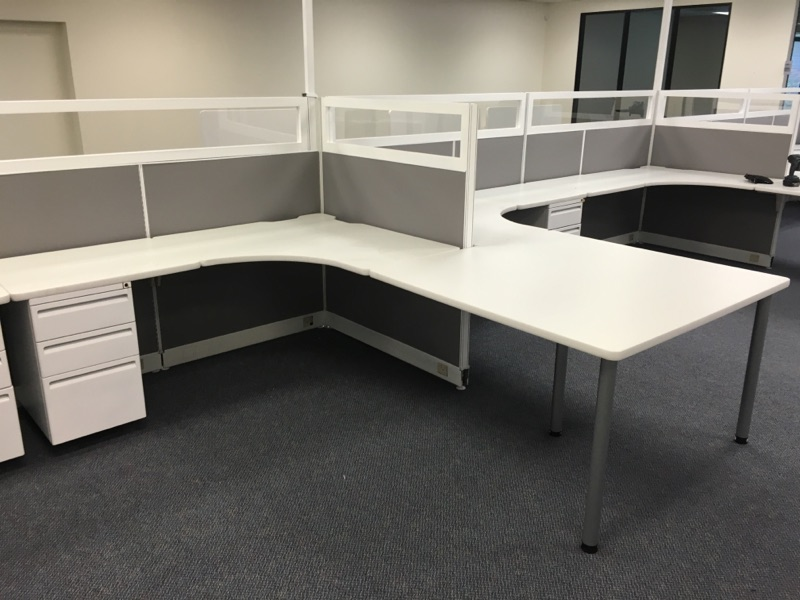 Partially Open Office Furniture