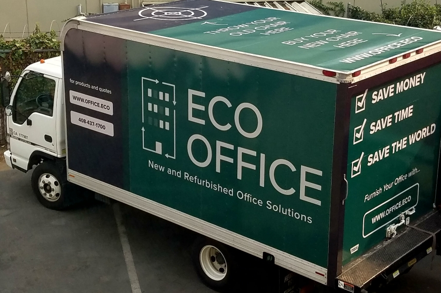 Eco Office Furniture Truck